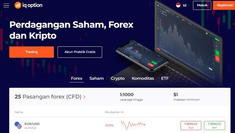 broker forex terbaik Indonesia